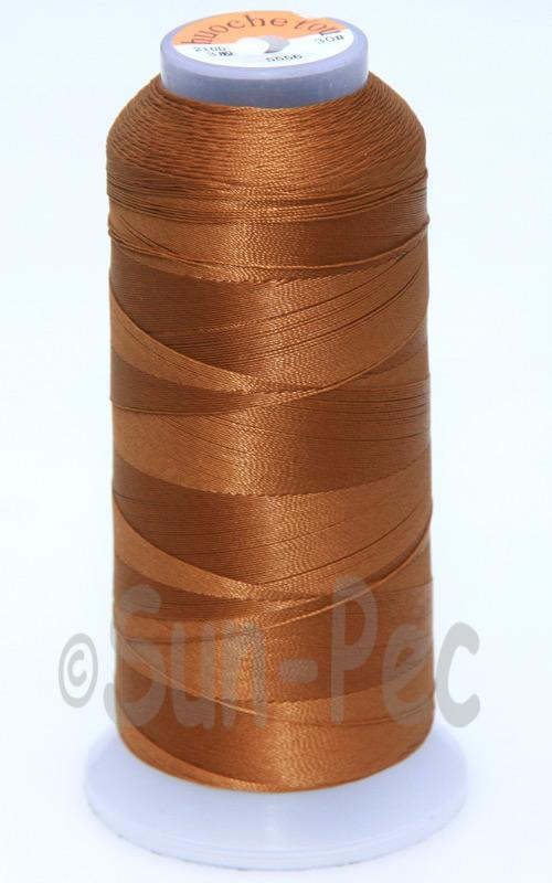 Brown T70 (v#69) Bonded Nylon Sewing Thread 210D/3 1500 yard spool