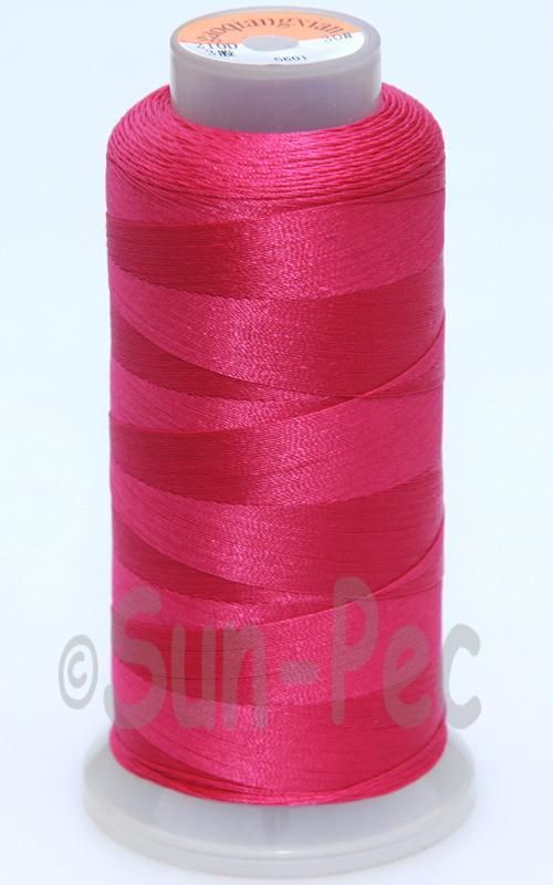 Plum T70 (v#69) Bonded Nylon Sewing Thread 210D/3 1500 yard spool