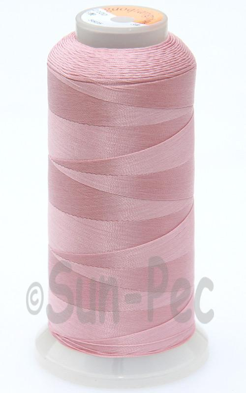 Pale Pink T70 (v#69) Bonded Nylon Sewing Thread 210D/3 1500 yard spool