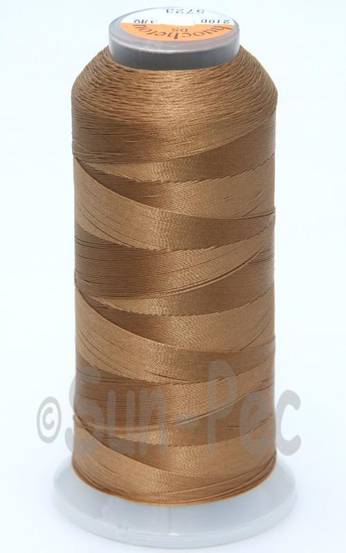 Sandy-Brown T70 (v#69) Bonded Nylon Sewing Thread 210D/3 1500 yard spool