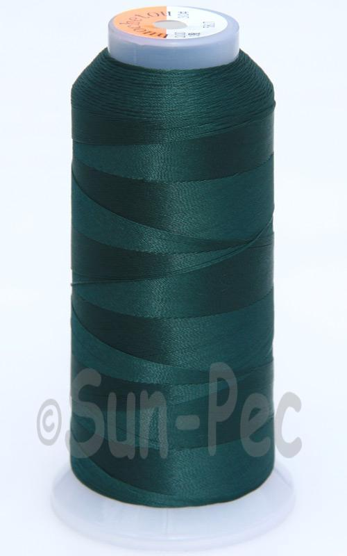 Dark Green T70 (v#69) Bonded Nylon Sewing Thread 210D/3 1500 yard spool